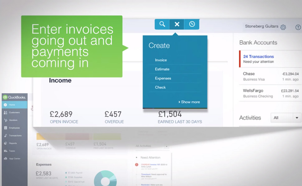 Quickbooks Cloud Accounting| Smith & Brown